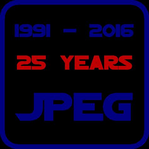 JPEG wird 25
